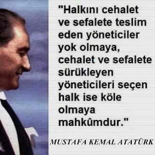 AKP-RTE iktidarı Atatürk düşmanlığını seyrediyor