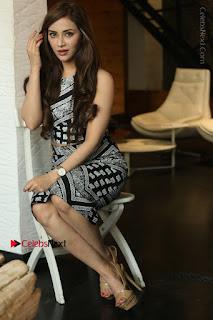 Telugu Actress Angela Krislinzki Latest Pos in Short Dress  0167.JPG