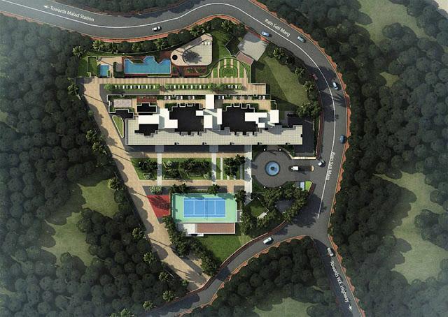 Kanakia Panvel Mumbai Master plan