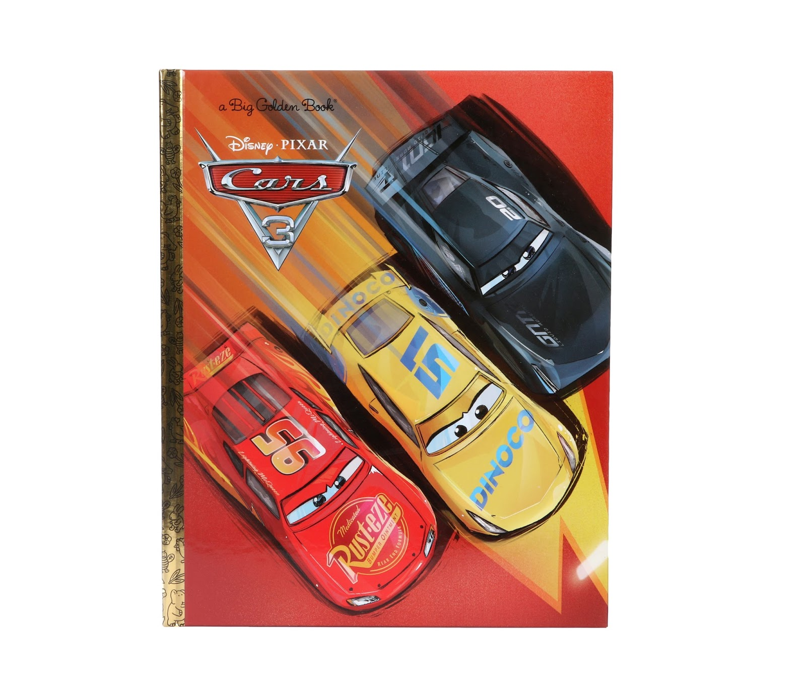 pixar cars 3 big golden book
