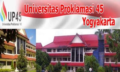 lowongan dosen universitas proklamasi 45 yogyakarta