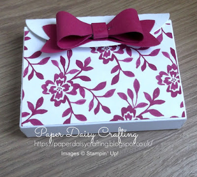 Bow Builder punch Stampin' Up!