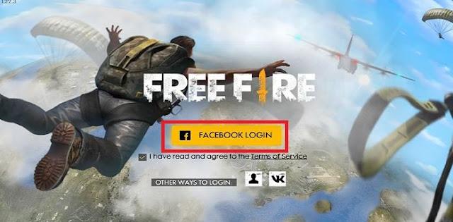 Cara Bind Akun Free Fire ke Akun Facebook