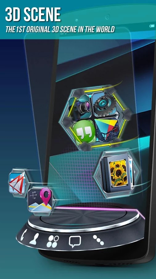 Next Launcher 3D Shell Apk 3 5 + Widgets + Themes ~ Android