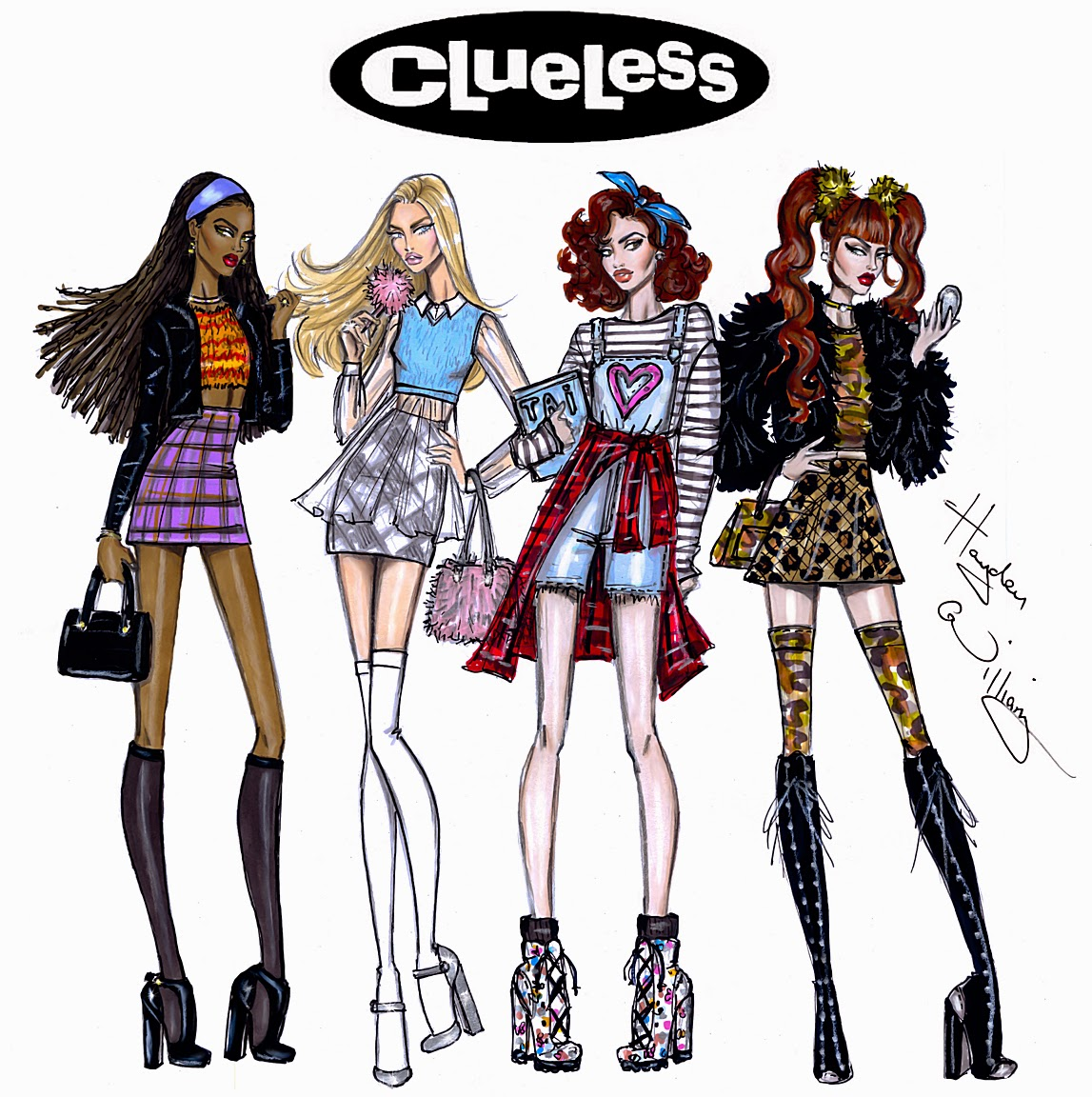 Clueless Fashion Designer
