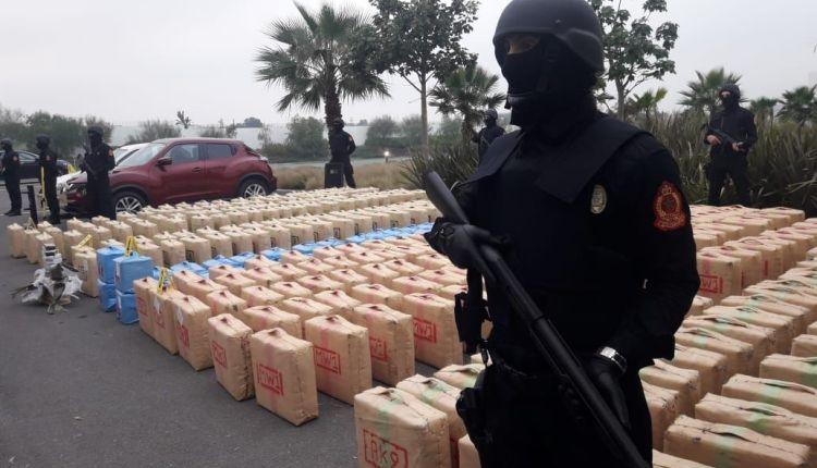 """الأمن و""""DST"""" يسقطان أخطر عصابة لتهريب المخدرات (صور)"""
