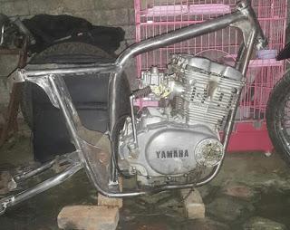 Dijual Mesin Plus Gerbox Yamaha XS 500cc Tahun 1977