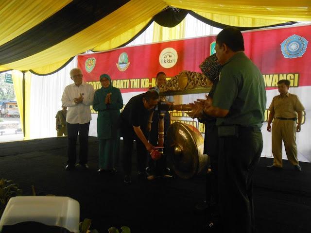 Penutupan Bakti TNI KB-KES Terpadu Kodam III/Siliwangi 2016