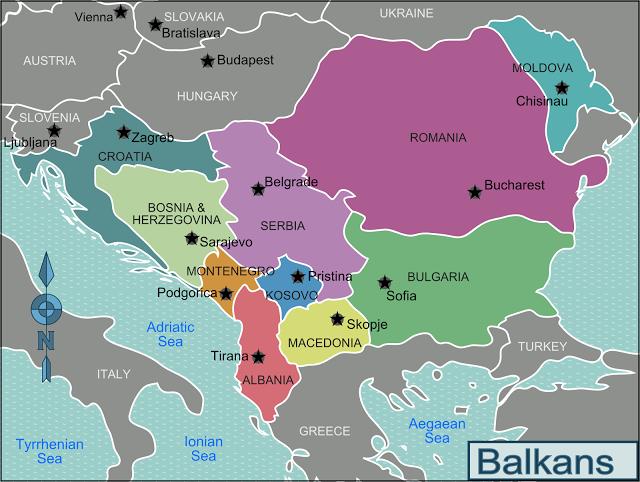 Apa itu negara Balkan