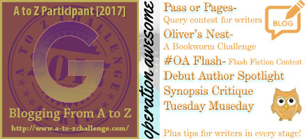 #AtoZchallenge 2017 Operation Awesome G is for Good Books