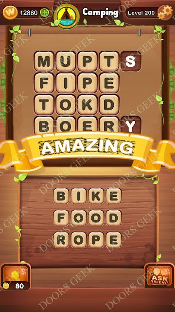 Word Bright Level 200 Answers, Cheats, Solutions, Walkthrough for android, iphone, ipad and ipod