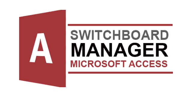 switchboard manager microsoft access