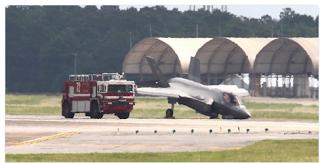 ΗΠΑ: Νέο ατύχημα με F-35 σε αεροπορική βάση (φωτό)