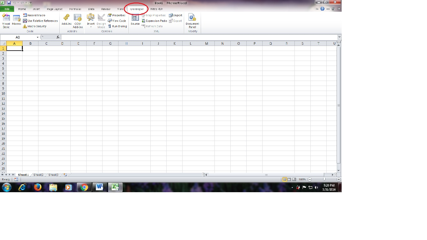 Membuat Formulir Sederhana Dengan Vba Pada Ms Excel