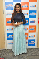 Shravya in skirt and tight top at Vana Villu Movie First Song launch at radio city 91.1 FM ~  Exclusive 11.JPG