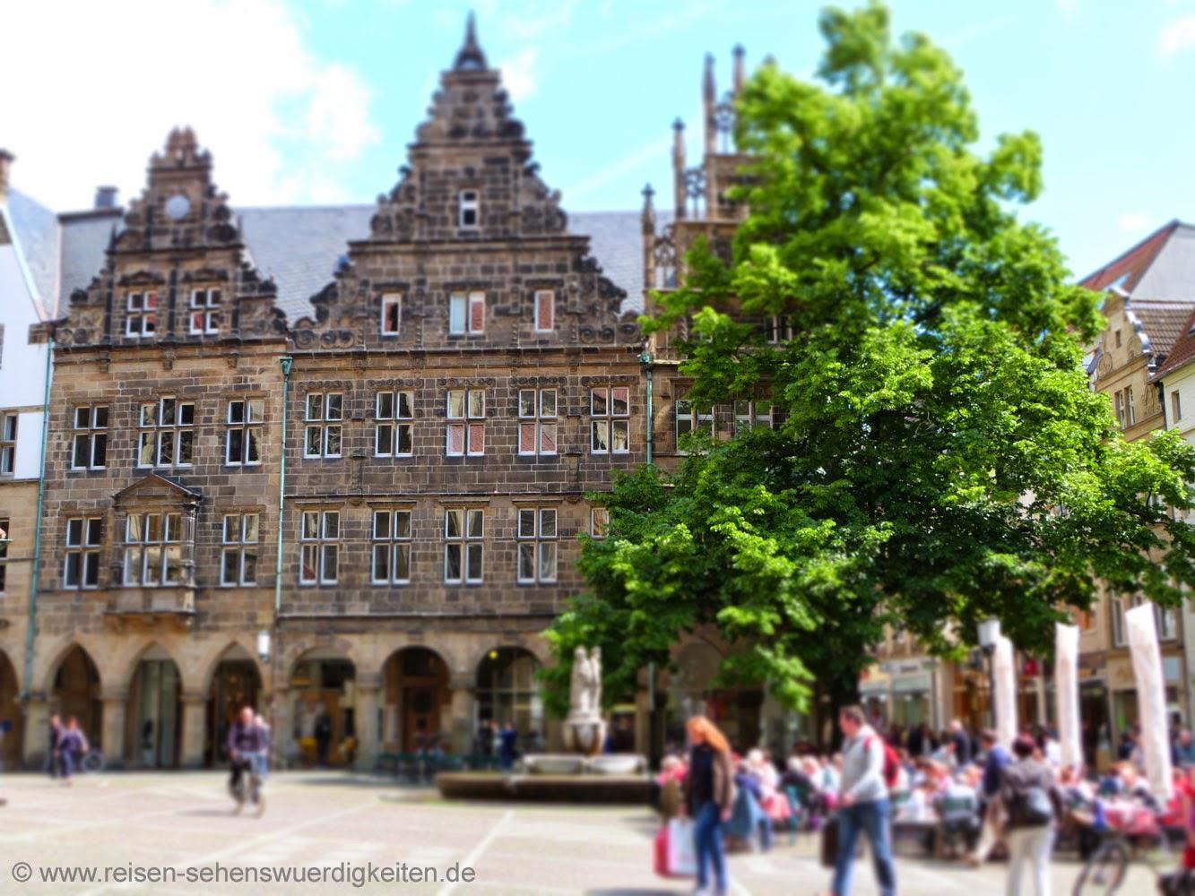 Sehenswürdigkeiten Münster, Prinzipalmarkt belebt