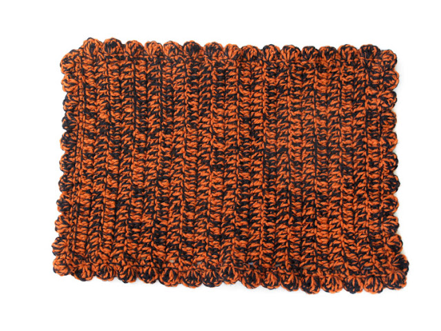 Free Team Colors Crocheted Placemats Pattern