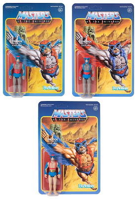 Power-Con 2018 Exclusive Masters of the Universe Variant ReAction Action Figures by Super7