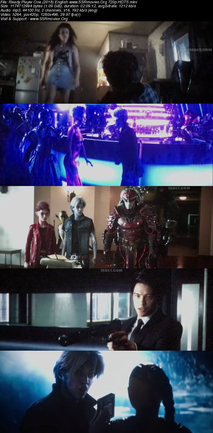 Ready Player One (2018) English HDTS