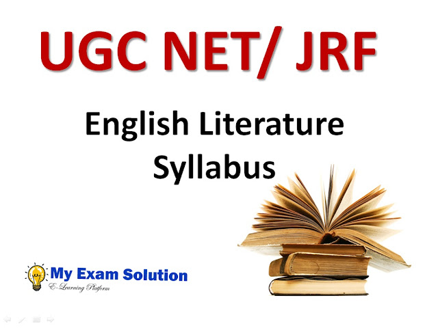 english literature, ugc net, NET Jrf English Literature