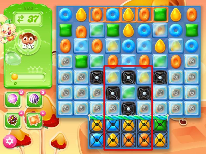 Candy Crush Jelly Saga 538