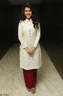 Chitra Shukla in Cream Kurti and Maroon Paijama at Maa Abbayi Audio Release on 20th Feb 2017 035.JPG