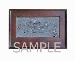 Souvenir plakat resin batu Satelindo