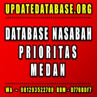 Jual Database Nasabah Prioritas Medan