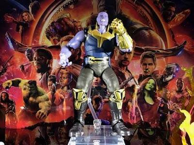 S.H.Figuarts Thanos de Avengers Infinity War