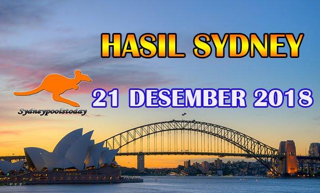 Hasil Togel Sydney 21 Desember 2018 Result SID