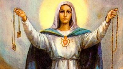 Różaniec – Przez Maryję do Jezusa.