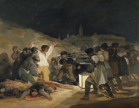 Goya Los fusilamientos del 3 de Mayo Museo del Prado