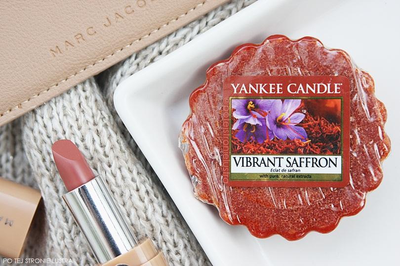 wosk yankee candle vibrant saffron