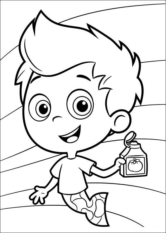 Fun Coloring Pages: Bubble Guppies Coloring Pages