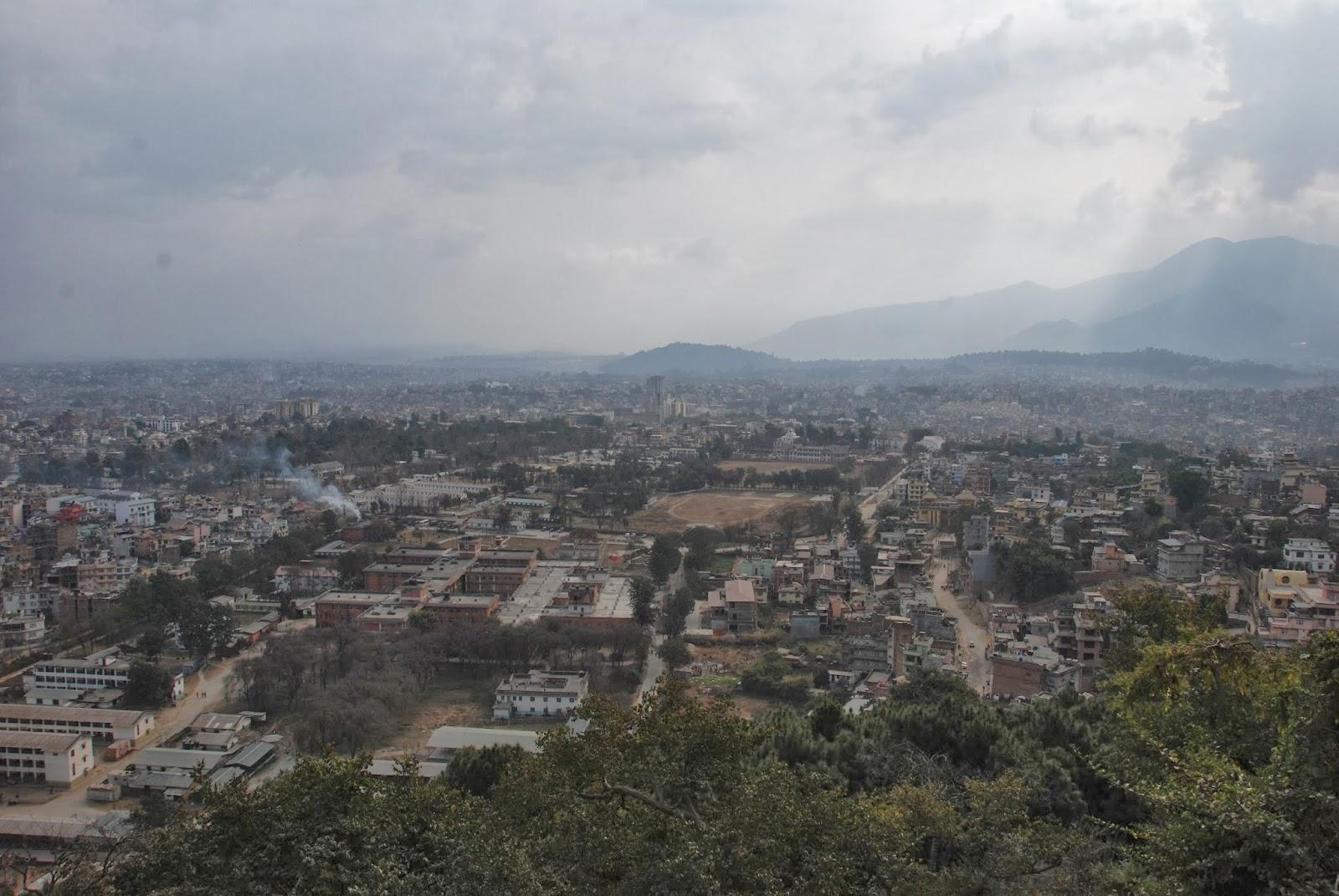 旅行日記: Day2 加德滿都-斯瓦揚布拿寺(Swayambhunath)-加德滿都