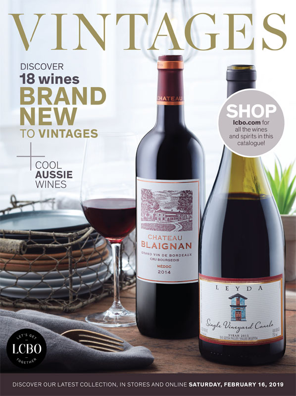 LCBO Wine Picks: February 16, 2019 VINTAGES Release