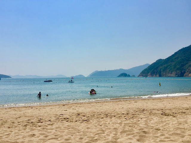Chung Hom Kok beach, Hong Kong Island
