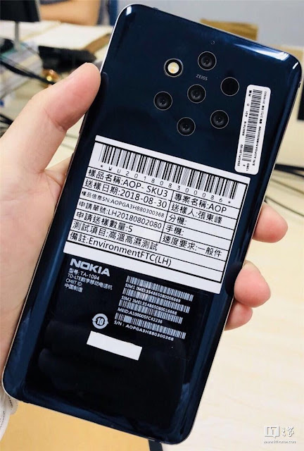 Nokia 9 PureView codenamed Olympic