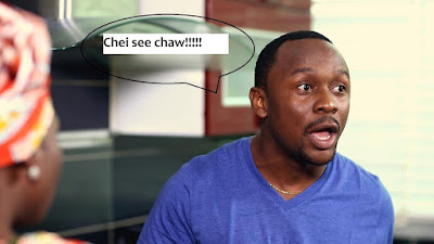 SPEECHLESS!!! SEE WHAT HAPPENED AFTER COMEDIAN USHBEBE TRIED USING PEAK MILK TO DO EBA AND EGUSI SOUP (WATCH VIDEO)