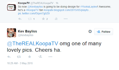 Kevin Bayliss Rare employee fan of KoopaTV Twitter