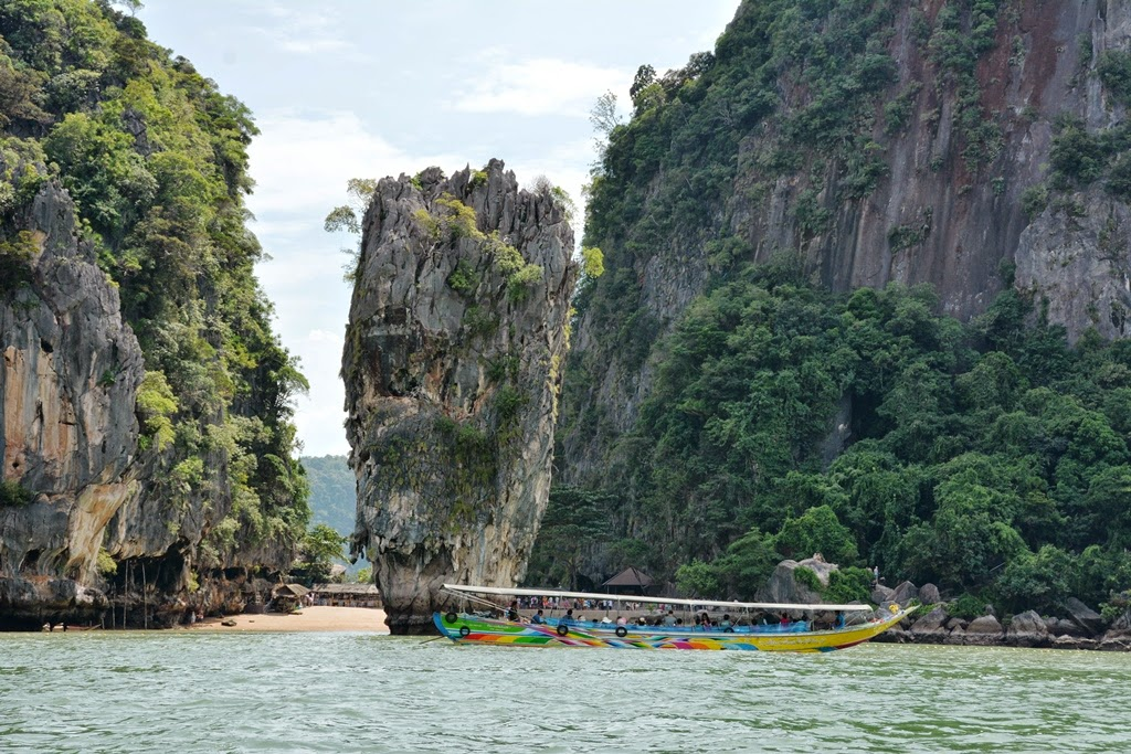 James Bond Island Phuket rock