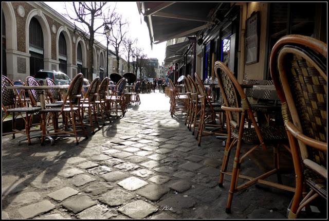 Cafés marché Notre-Dame Versailles