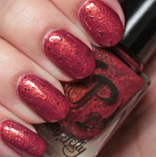 Pretty Jelly Nail Polish 3.14 Pies for Pi Day cold state
