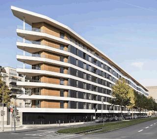 Aktiv-Stadthaus, a net zero residential building in Frankfurt