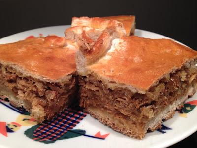 Empanada de bonito - Masa de pan - empanada gallega - Receta de Álvaro García - el gastrónomo - el troblogdita / ÁlvaroGP