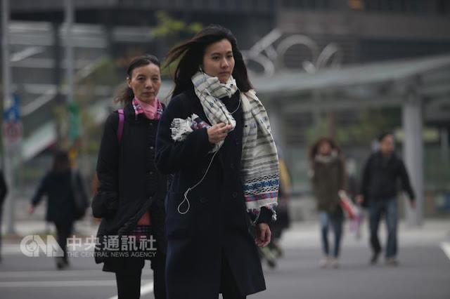 Massa Udara Dingin Di Taiwan Jatuh Dibawah Prediksi