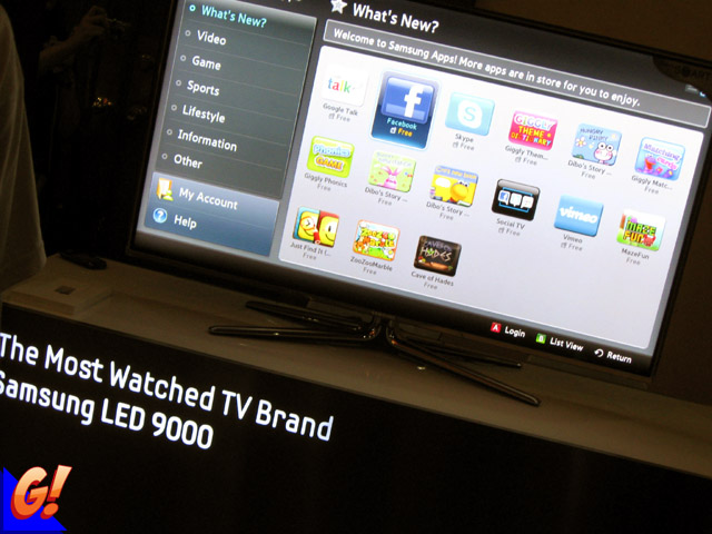 Samsung Smart TV is Awesome! (Part 1) ~ Behold the Geek!
