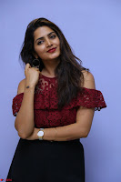 Pavani Gangireddy in Cute Black Skirt Maroon Top at 9 Movie Teaser Launch 5th May 2017  Exclusive 080.JPG