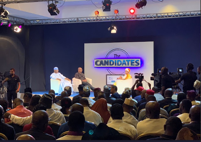 See some Powerful Responses From Atiku/Obi  at 'The Candidate' Interview