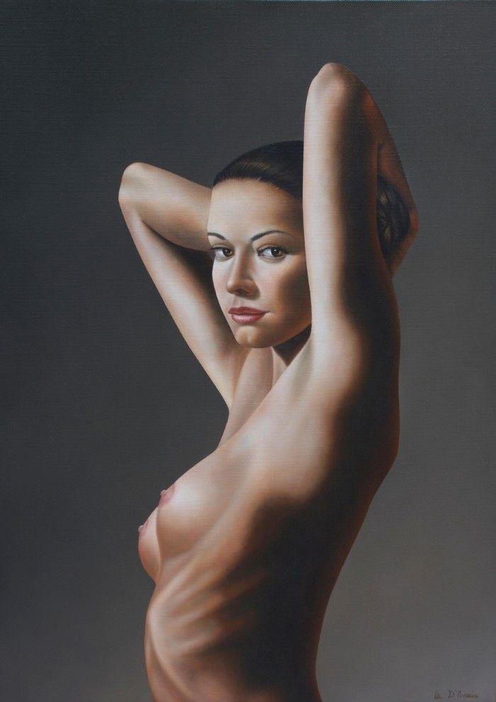 Итальянский художник. Michele D'Avenia